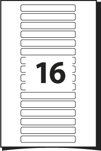 Rectangular labels template for labels page 4 for Word label template 16 per sheet a4